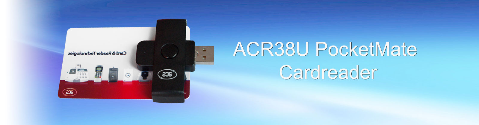 ACR38U Pocket Mate cardreader
