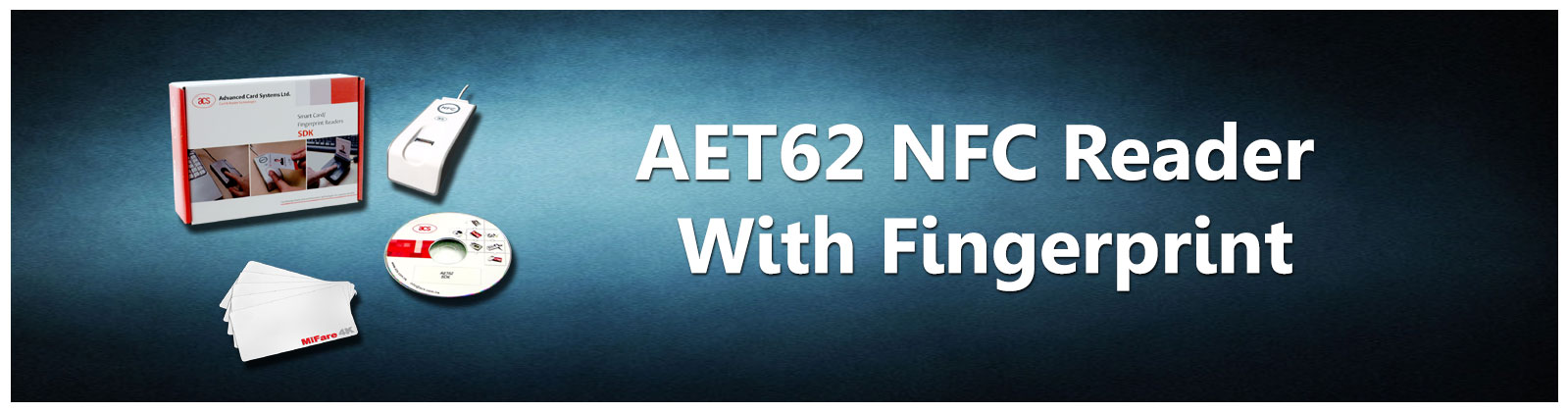 NFC Reader with Fingerprint Sensor SDK | AET62 | BSD InfoTech