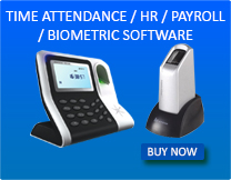 Biometric Software Time Attendence/HR/Payroll
